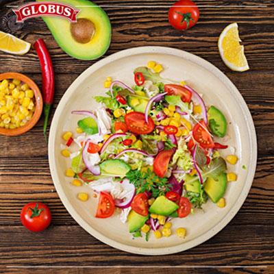 salata so pcenka i maslinki